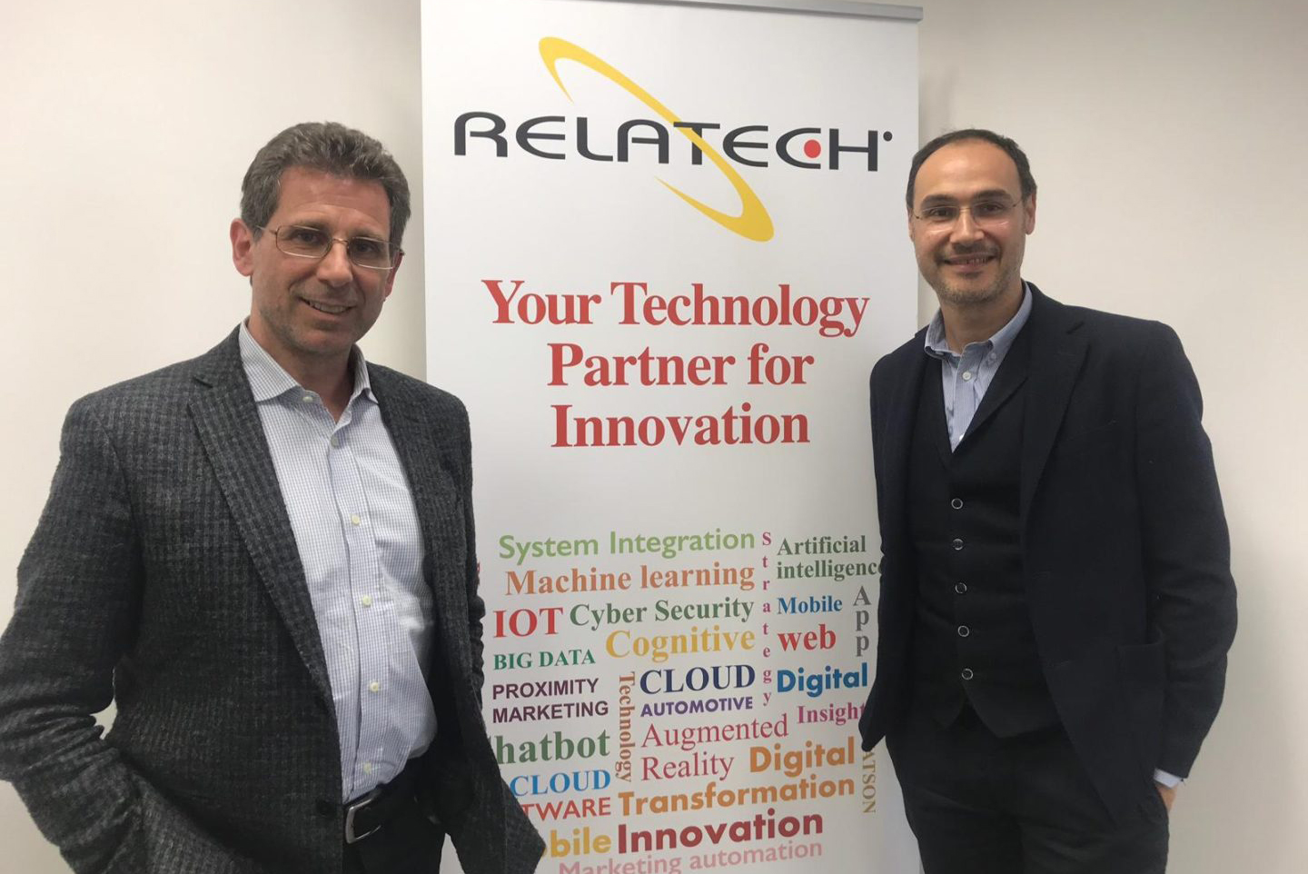 Angelo Aloia, Innovation and Solution Manager of Relatech