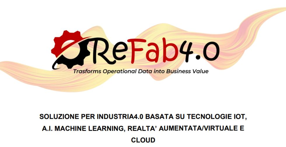 ReFab4.0, the IoT predictive maintenance Solution for Indutry4.0