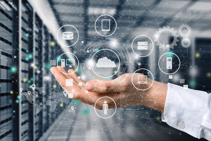 What are the processes of a data management platform?